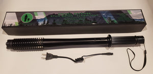 Animal Defense Stun Baton,Taser, Stun gun, 4 Million Volts, 3 Flashlight Settings. Never Feel Unsafe Again! Great For Walking Your Dog, Hiking & Security! Awesome Gift! 100% Legal In Canada