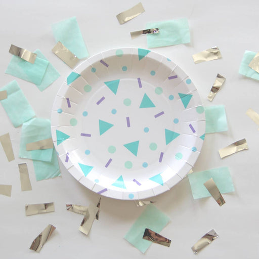 Confetti Pop Small Plate - Party, Girl!