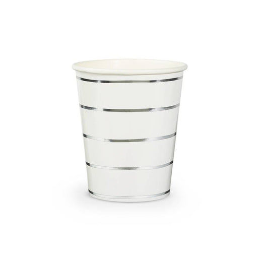 Simple Stripes Metallic Cups (multiple colors available) - Party, Girl!