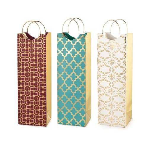 Luxe Pattern Wine Bags - Party, Girl!