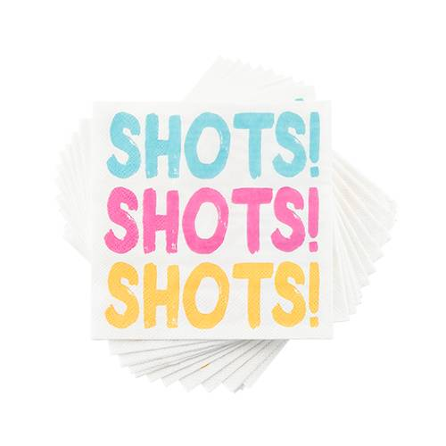 Shots! Shots! Shots! Napkins - Party, Girl!