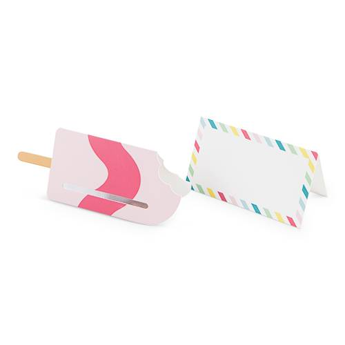 Assorted Popsicle Place Cards - Party, Girl!