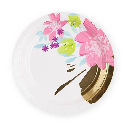 Meadowland Appetizer Plates - Party, Girl!