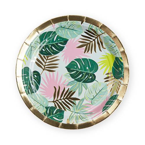 Monstera Appetizer Plate - Party, Girl!