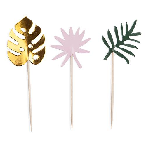 Assorted Tropical Treat Picks - Party, Girl!