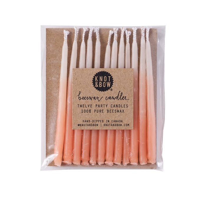 Beeswax Party Candles (multiple colors available) - Party, Girl!