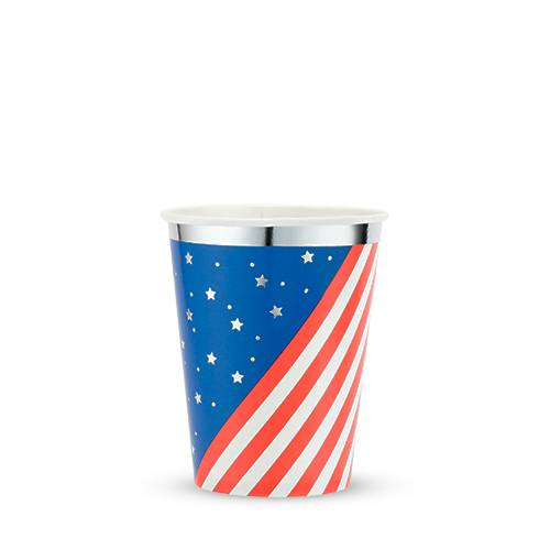 Stars & Stripes Cups - Party, Girl!