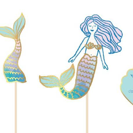 Mermaid Photo Prop Kit