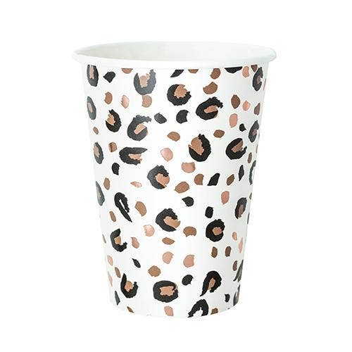 Femme Leopard Print Cups - Party, Girl!