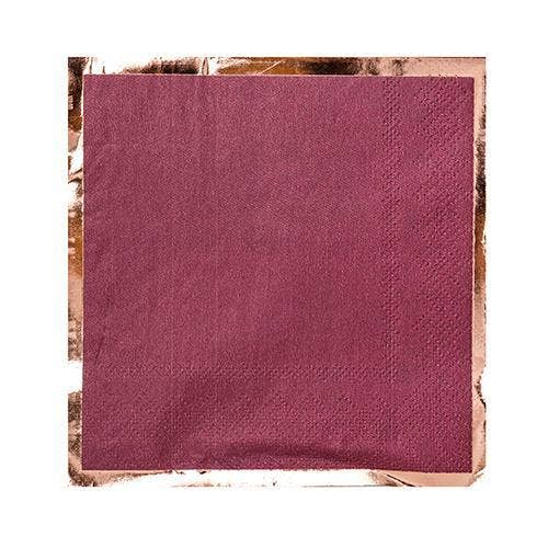 Mauve-elous, Cocktail Napkin - Party, Girl!