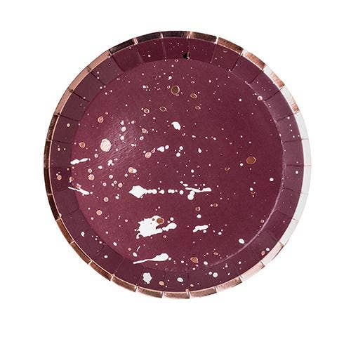Mauve-elous, Dessert Plate - Party, Girl!