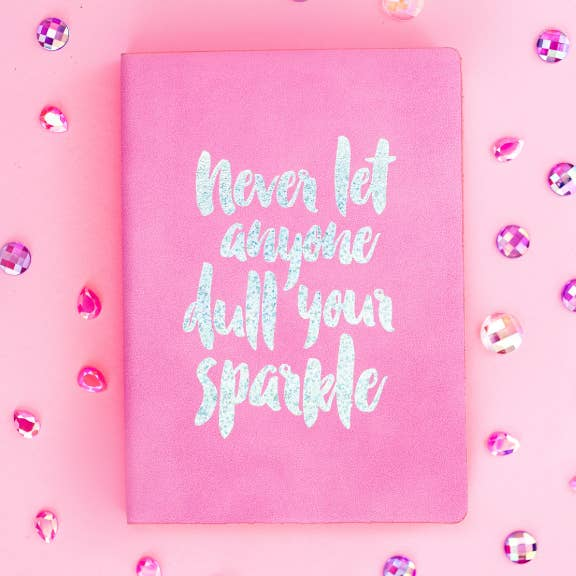 Sparkle Notebook - Lilac - Party, Girl!