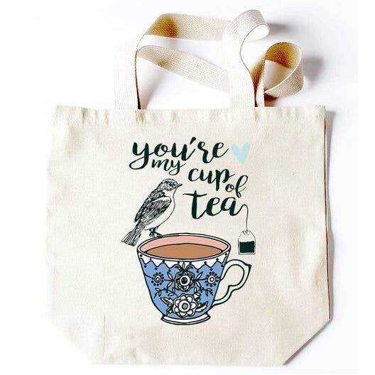 You're My Cup of Tea Tote - Party, Girl!