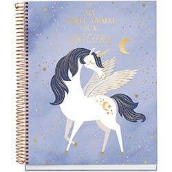 Unicorn Spiral Notebook - Party, Girl!
