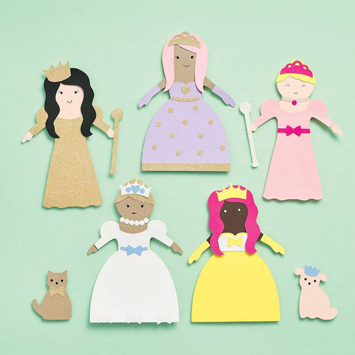 Princess Paper Doll Kit - Party, Girl!