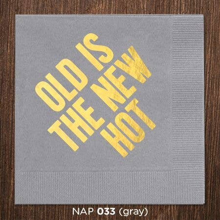 Old is The New Hot Napkins