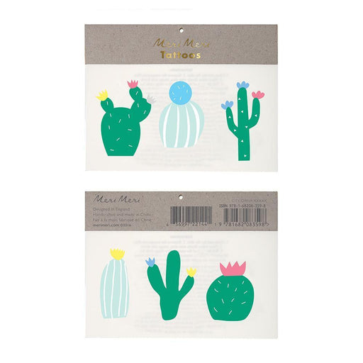 Cactus Tattoos - Party, Girl!