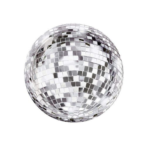 Glitterati Disco Ball Paper Plates - Party, Girl!