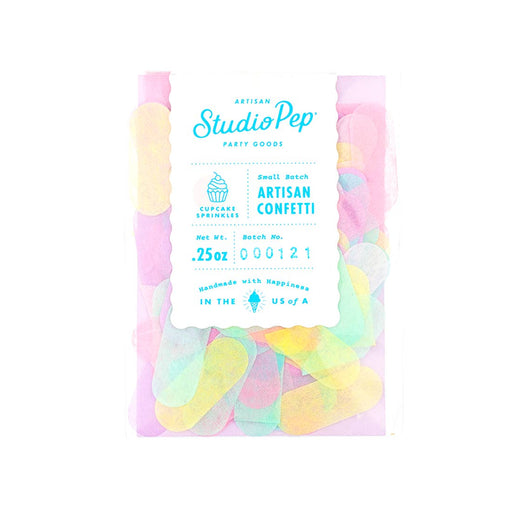 Cupcake Sprinkles Artisan Confetti Mini Pack - Party, Girl!
