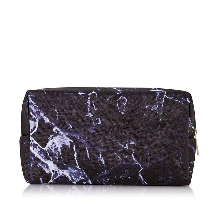 Black Marble Makeup Bag - Party, Girl!