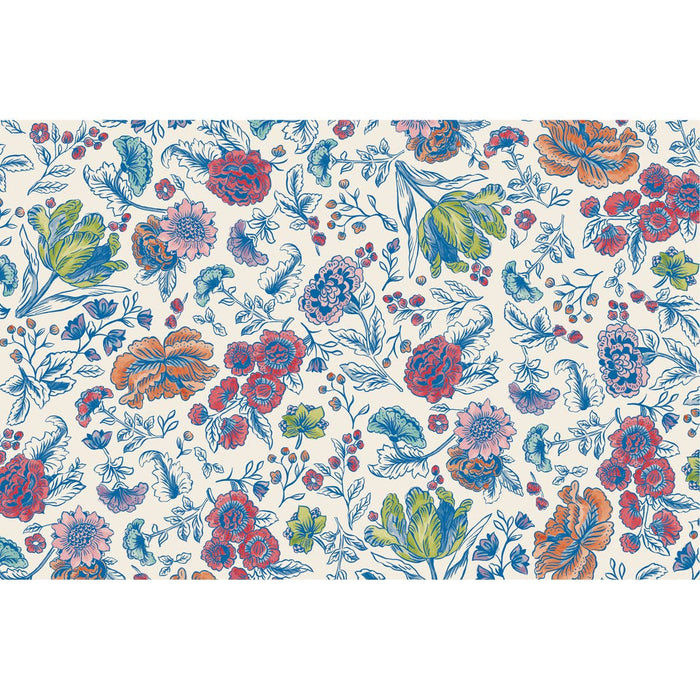 China Blue Floral Placemat - Party, Girl!