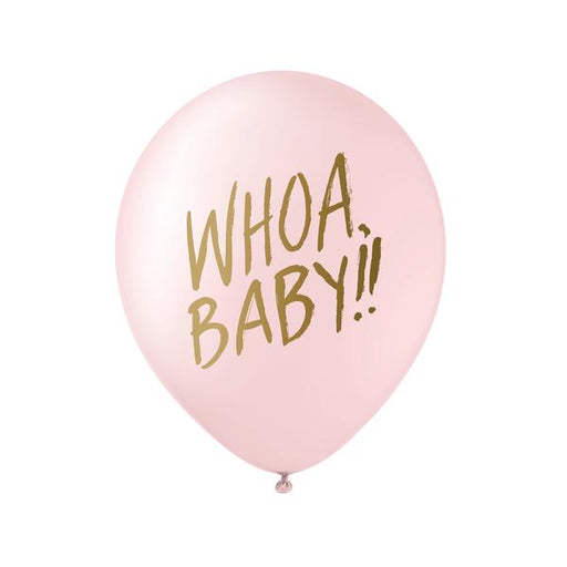 Pink Whoa Baby Balloon - Set of 3 - Party, Girl!