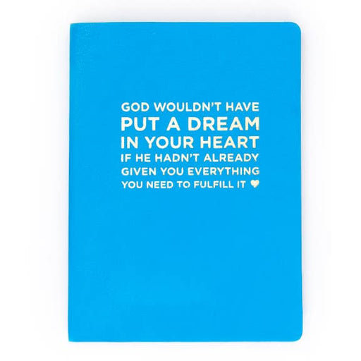 God / Dreams Notebook - Blue - Party, Girl!