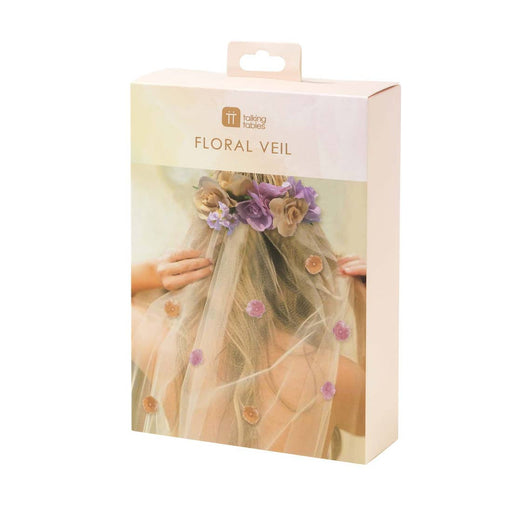 Blossom Girls Floral Veil - Party, Girl!