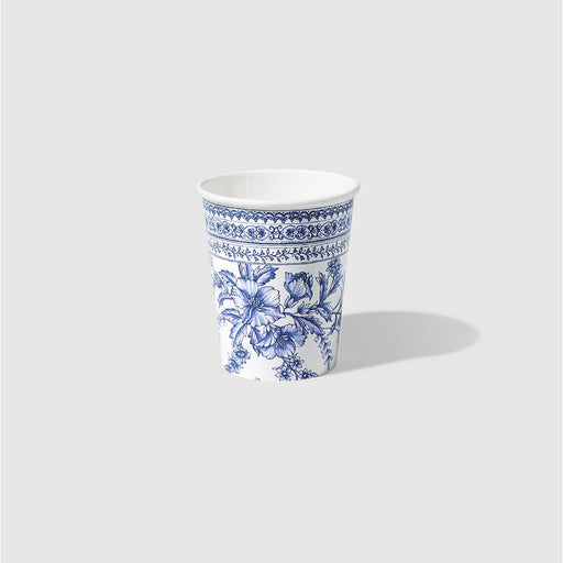 French Toile Paper Party Cups (10 Count)