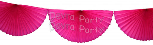 Paper Fan Garland - Party, Girl!