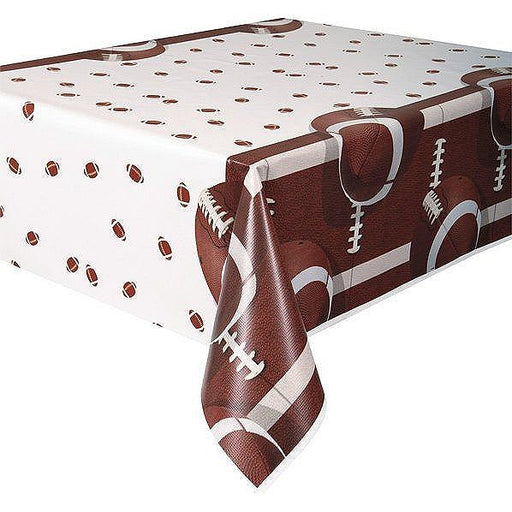 Football Party Table Cover - Party, Girl!
