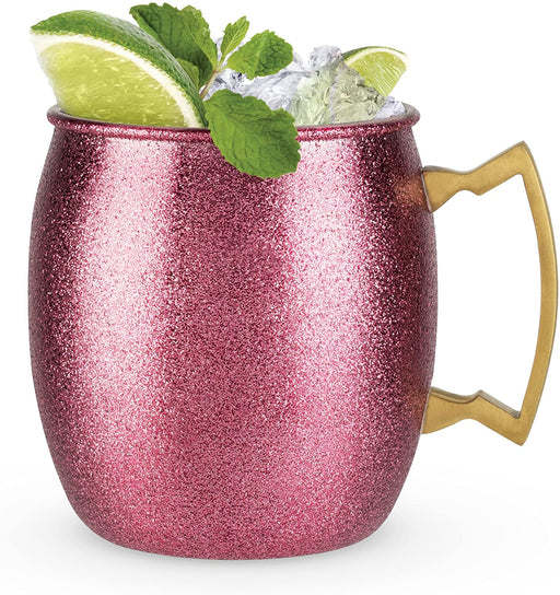 Pink Glitter Moscow Mule Mug - Party, Girl!