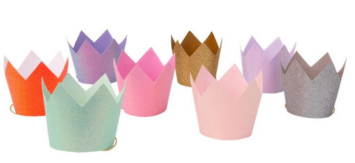 Glitter Party Crowns - Party, Girl!