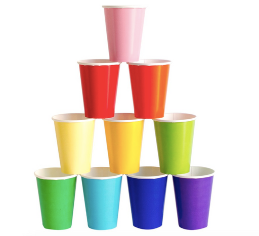 8oz Cups by Oh Happy Day (multiple colors available) - Party, Girl!