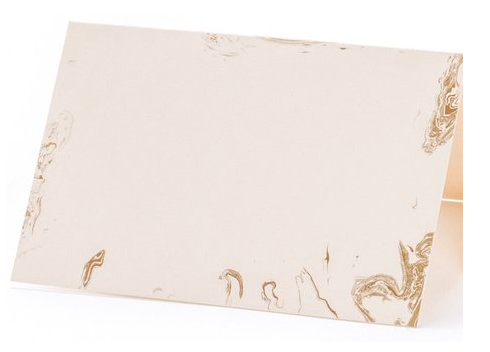 Gold Marble Place Card--Pack of 12 - Party, Girl!