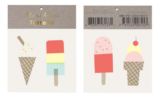 Ice Lolly Tattoo - Party, Girl!