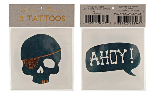 Skull & Ahoy Tattoos - Party, Girl!