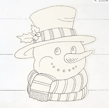 Color Me Snowman Placemats--12 Sheets - Party, Girl!