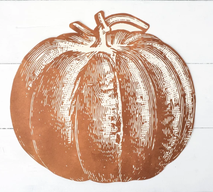 Pumpkin Placemat--12 Sheets - Party, Girl!