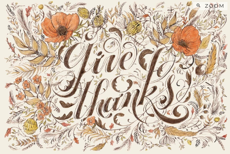 Give Thanks Placemat--12 Sheets - Party, Girl!