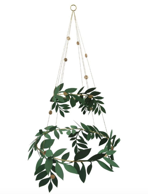 Festive Foliage Chandelier - Party, Girl!