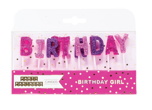 Happy Birthday Candle Sets - Party, Girl!