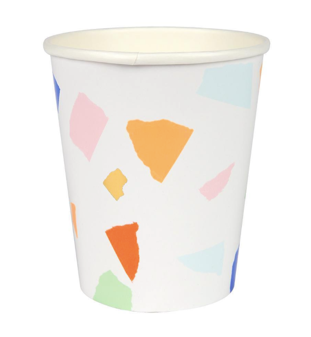 Bright Terrazzo Cups - Party, Girl!