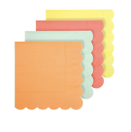 Neon Napkins (Small) - Party, Girl!