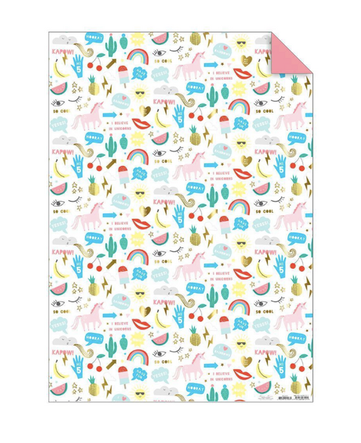 Icons Wrapping Paper Roll - Party, Girl!