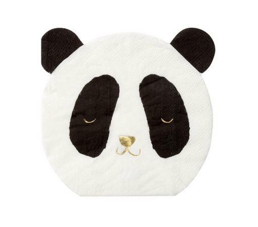 Panda Small Napkins - Party, Girl!