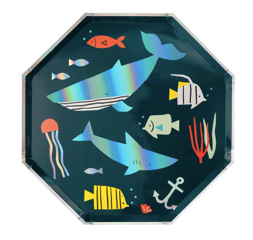 Under The Sea Dinner Plates - Party, Girl!