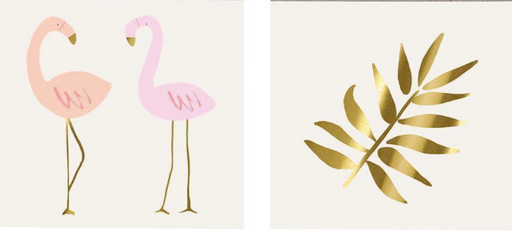 Flamingo Tattoos - Party, Girl!
