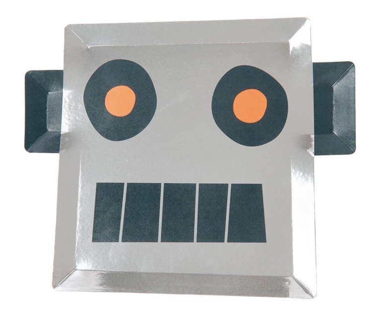Robot Plates - Party, Girl!