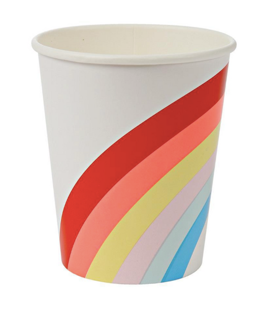 Big Rainbow Cups - Party, Girl!